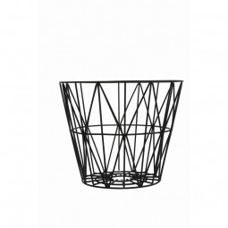 Ferm Living Wire Basket Small Sort-20