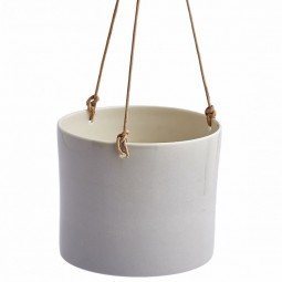 Anne Black Grow Hanging Urtepotte Medium Concrete-20