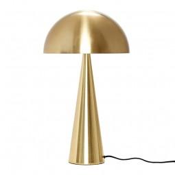 Hübsch Mushroom Bordlampe Messing Høj-20