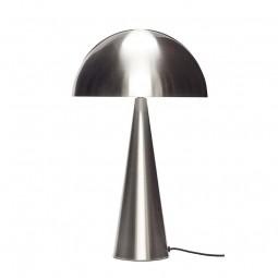 Hübsch Mushroom Bordlampe Stål Høj-20