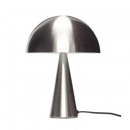 Hübsch Mushroom Bordlampe Stål Lav-20
