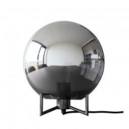 Hübsch Mirror Moon Bordlampe Smoked/Sort-20