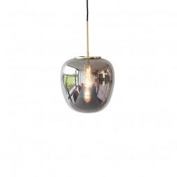 Hübsch Mirror Pendel Lampe Glas/Messing Small-20