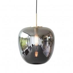 Hübsch Mirror Pendel Lampe Glas/Messing Large-20