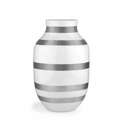 Kähler Omaggio Vase H305 Sølv-20