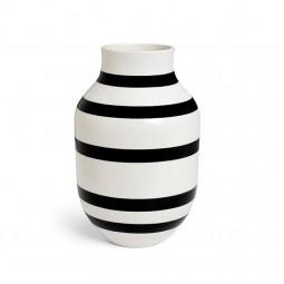 Kähler Omaggio Vase H305 Sort-20