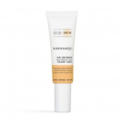 Karmameju Solcreme BB FACE CREAM spf 30 Colour Light-20