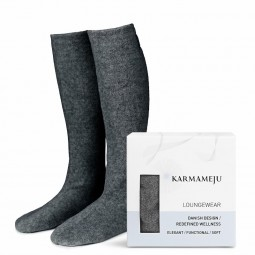 Karmameju Cozy fleece sokker-20