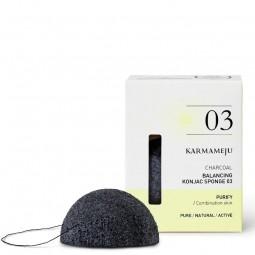 Karmameju CHARCOAL konjac sponge 03-20