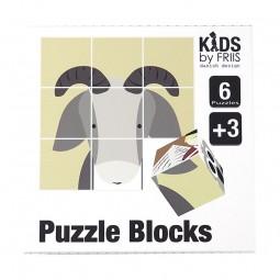 KIDS by FRIIS Klodser m. 6 puslespil Eventyr-20