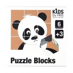 KIDS by FRIIS Klodser m. 6 puslespil Noahs Ark-20