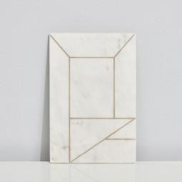 Kristina Dam Marble Perspective 20x30 cm.-20