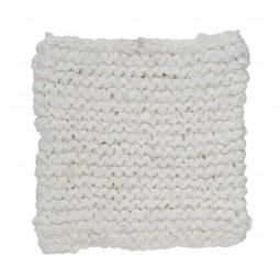 By Nord Grydelappe Knitted Off White-20