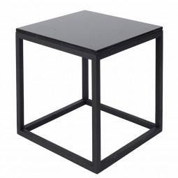 Kristina Dam The Cube Bord Medium Sort Marmor/Sort Eg-20