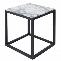 Kristina Dam The Cube Bord Medium Tigerskin Marmor/Sort Eg-20