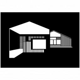 Kristina Dam Plakat FJ House A3 Sort/hvid-20