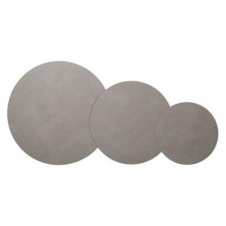 LindDNA Hot Mat Triple Moon bordskånere Cloud Light Grey-20
