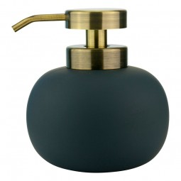 Mette Ditmer LOTUS Sæbedispenser Lav Anthracite/Messing-20