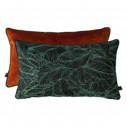 Mette Ditmer ATELIER Pude 30x50 cm Green Leaves/Rust-20