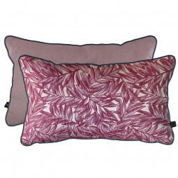 Mette Ditmer ATELIER Pude 30x50 cm Red Leaves/Lavender-20