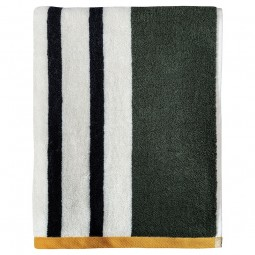 Mette Ditmer Badehåndklæde BOUDOIR Dark Olive 70x133 cm-20