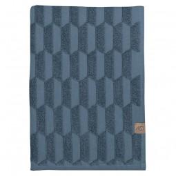 Mette Ditmer Geo Håndklæde Slate Blue-20