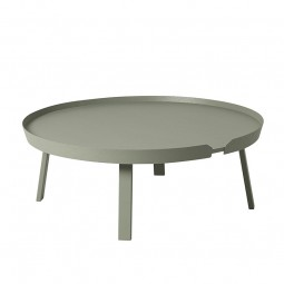 Muuto Around Sofabord XL Dusty Green-20