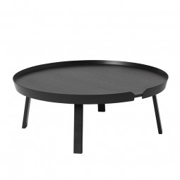 Muuto Around Sofabord XL Sort-20
