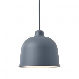 MUUTO Grain Pendel Lampe Blue Grey-20