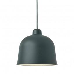 MUUTO Grain Pendel Lampe Dark Green-20