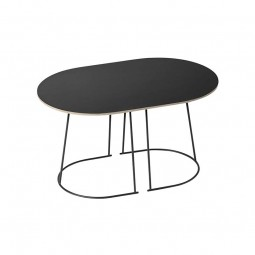 Muuto Sofabord Airy Lille Sort-20