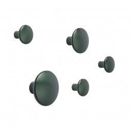 MUUTO The dots gaveæske M/5 knage Metal Dark Green-20