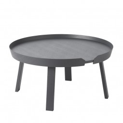 Muuto Around Sofabord Large Antracit Grå-20