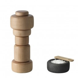 Muuto Plus Grinder Salt og Peberkværn Ask-20