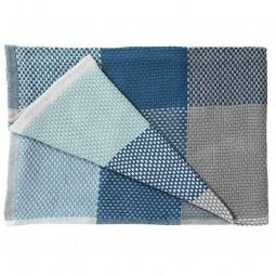MUUTO Loom Blanket Blå-20