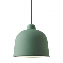 MUUTO Grain Pendel Lampe Dusty Green-20