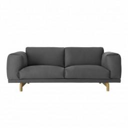 Muuto Rest Sofa 2 pers. Mørkegrå ( Vancouver 13)-20