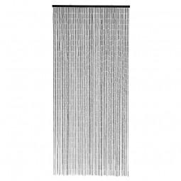 Nordal Bambus Dørforhæng 90x200 cm Sort-20