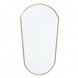 Nordal Ovalt Spejl Guld-20