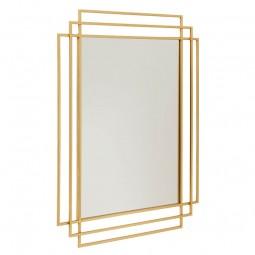 Nordal Square Spejl Guld-20