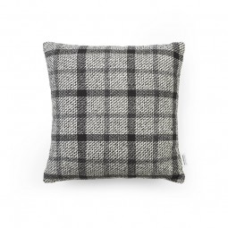 Normann Copenhagen Flair Pude 40x40 cm Black/White Mega Check-20