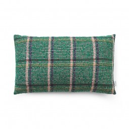 Normann Copenhagen Flair Pude 35x60 cm Green Tweed-20