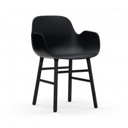 Normann Copenhagen Form Armchair Stol Sort-20