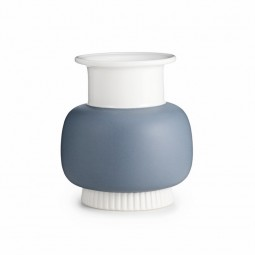 Normann Copenhagen Nyhavn Vase Medium Sky Grey-20
