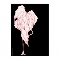 Paradisco Productions Disco Flamingo 50x70 cm-20
