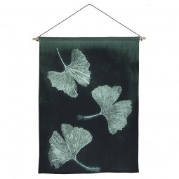 Pernille Folcarelli Ginkgo Dark Green Vægtæppe 65x90 cm-20