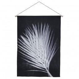 Pernille Folcarelli Palm Dark Grey Vægtæppe 100x140 cm-20