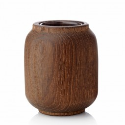 Applicata Poppy Vase Small Røget Eg-20