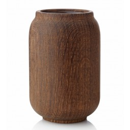 Applicata Poppy Vase Medium Røget Eg-20