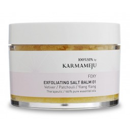 Karmameju Exfoliating Salt Body Scrub FOXY 01 Rejsestørrelse-20